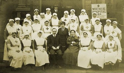 Michie Hospital staff