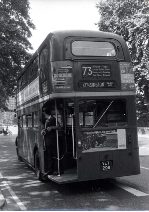 73 routemaster bus - by John Bignell
