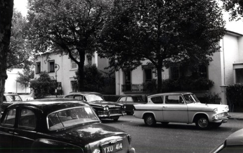 Addison Avenue 34-36 east side 1970 KS760 anglia