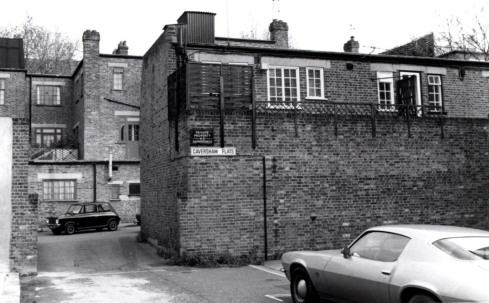 Caversham street east side, 1974 KS 4058
