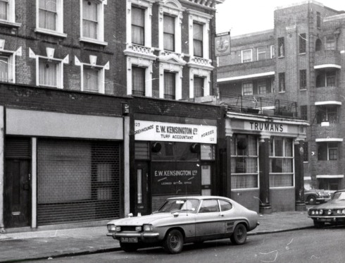 Clarendon Road 121-123 west side 1971 KS1155 capri mk1