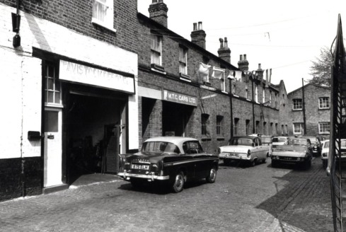 Ledbury Mews North  north side 1972 KS3651