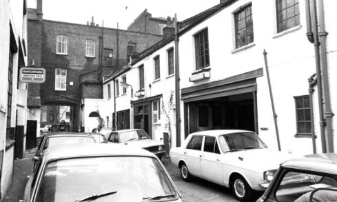 Ledbury Mews West  south side 1972 KS2267