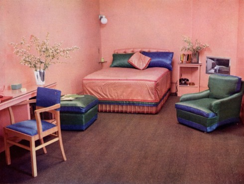 Bed-sitting room by Herman Schrijver for Miss Gladys Burton 13