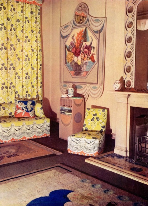 Music Room by Duncan Grant and Vanessa Bell 15