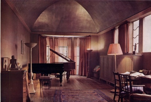 Music room by Oliver Hill 18