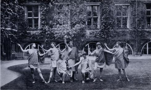 1927 The Bacchanals - unconvincing