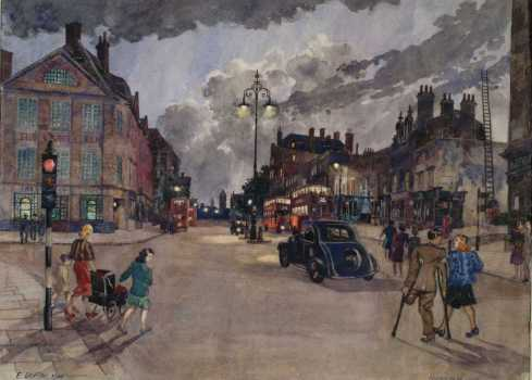 Griffen Fulham Road 1946