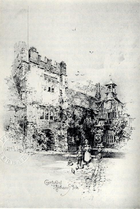 Ightham Mote Courtyard p231