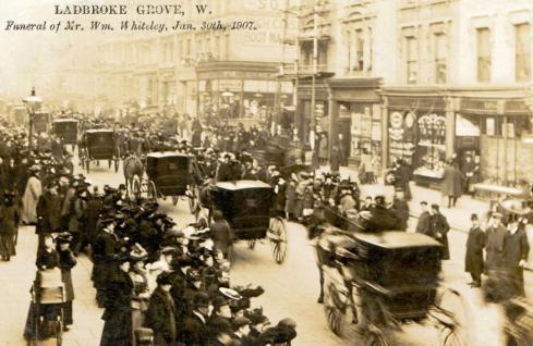 Ladbroke Grove funeral